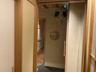 蓬左茶寮 - 入り口待合室