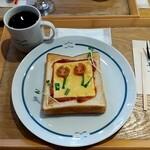 うのまち珈琲店 - トーストセット 546円+税