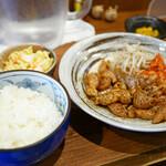 幾寅 - 豚シロ焼 定食 ¥800