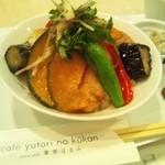 14894180 - 白身魚と野菜の揚げびたし丼