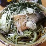 お料理やまもと - 夜〆、ニシン茶蕎麦