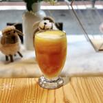 綿茶 - マンゴースムージー+ナタデココ