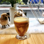 綿茶 - hotケーキミルクティー+プリン−タピオカ