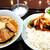 マルヤス酒場 - 料理写真:ニンニクラーメン+麻婆茄子