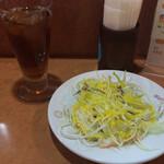ルンビニ - サラダ&ウーロン茶