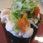 活き魚回転寿司 魚鮮 - 料理写真:真鱈の白子