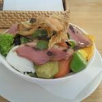 大分香りの博物館 カフェ サ・サンボン - 料理写真:ランチのサラダ。