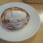 大分香りの博物館 カフェ サ・サンボン - 友達オーダーのアップルパイ
