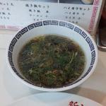 新福菜館 - スープつき