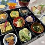 クアパーク津田 - 料理写真:ランチ限定メニュー:渚の昼御膳 1,800円