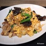 中国料理 空 - 豚肉ときくらげの卵炒め