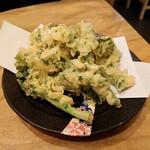 漁師寿司 海蓮丸 - 菜の花の天ぷら