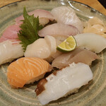 漁師寿司 海蓮丸 - おまかせ寿司10貫
