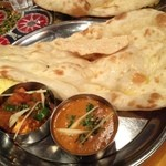 インド料理 ムンバイ - ベジタブルカレー、チキンカレー