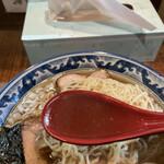 めん処 樹 - スープ
