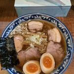 めん処 樹 - 特製醤油らぁ麺