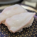 はま寿司 - 生蛸は塩で戴きました。