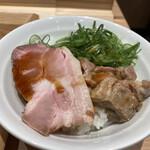 Ramenuxokakicchin - 九条ネギ豚ご飯 300円