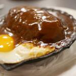 洋食キムラ - ハンバーグ