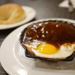 洋食キムラ - ハンバーグセット パン