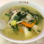 コトブキ亭 - タンメン  ¥650