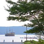 ラ・テラッツァ 芦ノ湖 - テラスからの眺め〜♬