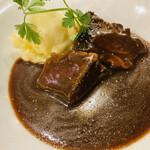 湘南の魚とワインの店 ヒラツカ - 黒毛和牛に赤ワイン煮