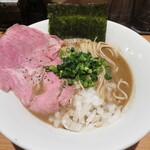 麺屋 まほろ芭 - 濃厚海老煮干そば 860円
