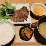 148977036 - 豚肩ロースの生姜焼き定食