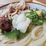 Marunanashouten - 炙り梅とおろしそ肉麺