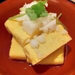 鮨・酒・肴 杉玉 - 出汁巻き卵
