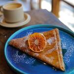 nico cafe - 修行の成果のクレープ