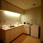 横浜ベイホテル東急 - アトランティックスイート;キッチン