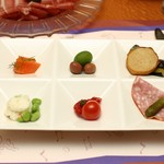 横浜ベイホテル東急 - 料理写真:オードブルプレート
