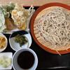 清水そば そば峠 - 料理写真:峠の天蕎麦セット