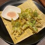 カフェゴーサンブランチ - 蕗の薹の天ぷら
