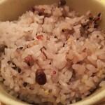 鳥と卵の専門店 鳥玉 - 五穀米