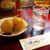 欧風カレー ボンディ - 料理写真:お水と一緒に運ばれてきたジャガイモ。