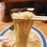 Meigenso - 煮干し塩そば 麺リフト