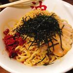 東京油そば本舗 - 料理写真:よくかき混ぜて食べるべし。激ウマ。