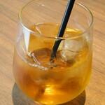 MK CAFE - ごぼう茶アイス