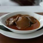 中国料理 「チャイナブルー」 - 白霊茸と季節野菜のオイスターソース煮