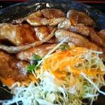 学生食堂 REATA - 豚生姜焼き定食2