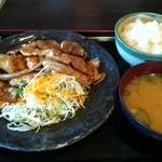 学生食堂 REATA - 豚生姜焼き定食1