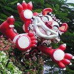 天龍 - 901 【料理無関係】 本島・県道84号と449号交差点のシーサーオブジェ