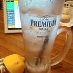 旨唐揚げと居酒メシ ミライザカ - レモンサワー・ビームハイボール飲み放題30分330円から生絞りWレモンサワー