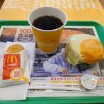 マクドナルド - 料理写真:エッグマックマフィンセット