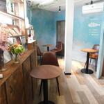 MK CAFE - 店内1F(2021年4月)