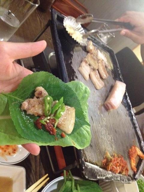 韓国食堂 サムギョプサル