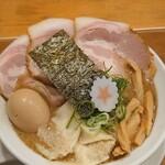 麺匠うえ田 - 〈濃厚〉魚介とんこつ 特製ラーメン 大盛